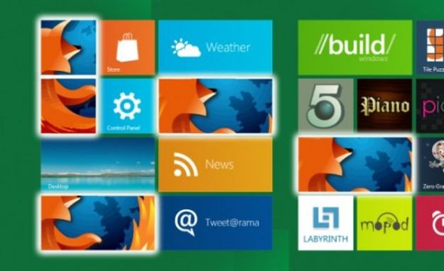 Windows 8: la versione Metro di Firefox disponibile solo se è il browser di default