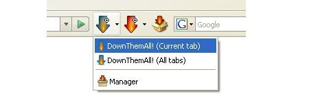 firefox plugin downthemall