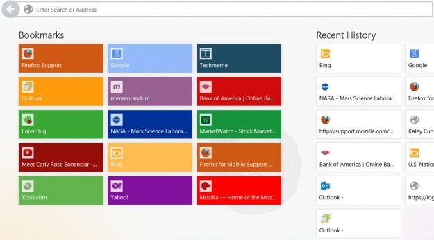 Firefox per Windows 8: scaricare il browser in versione Modern-UI