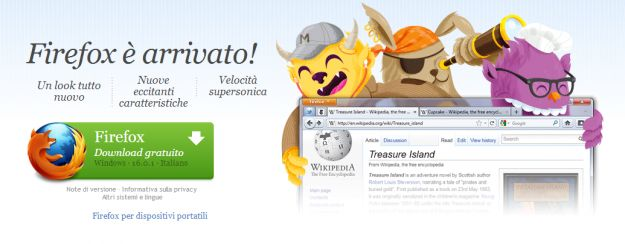 Mozilla Firefox 16 (ri)disponibile per il download