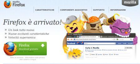 Mozilla Firefox disponibile in versione 6 (come annunciato)