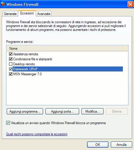 firewall xp