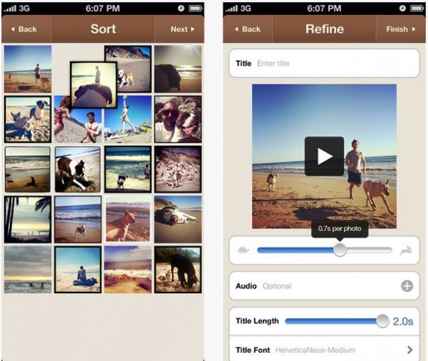 Instagram su iPhone: creare un video con le foto con Flipagram