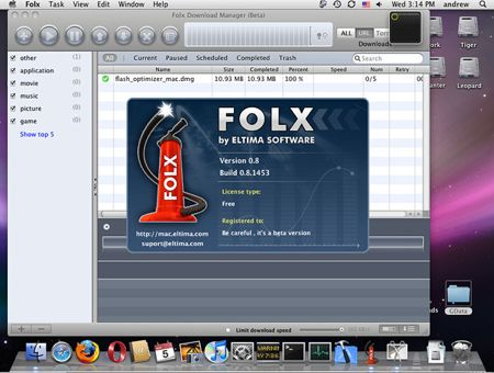Folx: un ottimo download manager per Mac