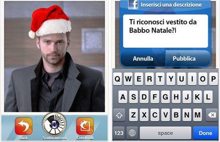 Foto auguri di Natale su iPhone con AppyXmas