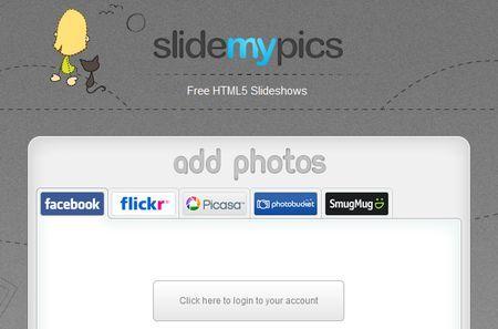 Foto gratis: slideshow accattivanti con le immagini dei social network con SlideMyPics