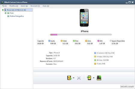 Caricare foto su iPhone in modo intuitivo con Xilisoft