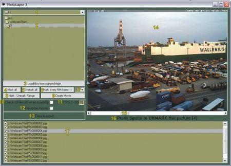 Creare presentazioni fotografiche con PhotoLapse
