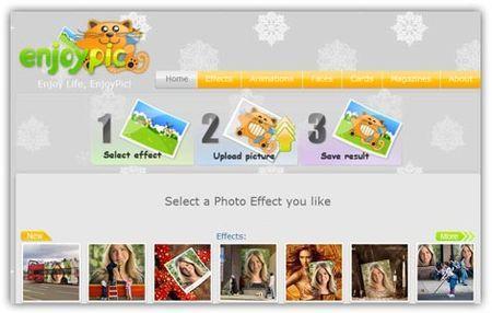 Fotomontaggi online: crearli con EnjoyPic