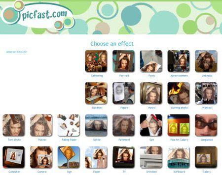 fotomontaggi picfast