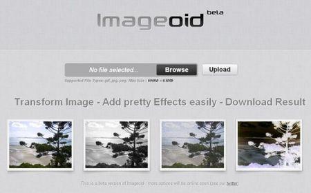 Fotoritocco gratis: applicare effetti speciali alle foto con ImageOid