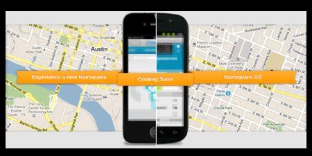 Foursquare 3 pronto per AppStore ed Android Market