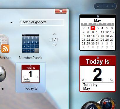Gadget Windows Vista: come scaricarli ed installarli