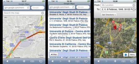iPhone geolocalizzazione