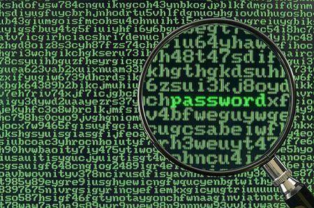 gestire le password