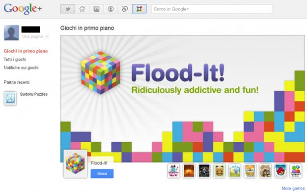 giochi google plus