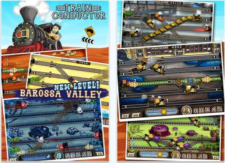 giochi iphone train conductor