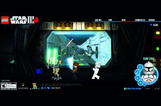 Giochi gratis online star wars