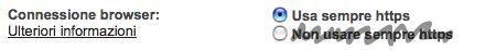 gmail https sempre attivo