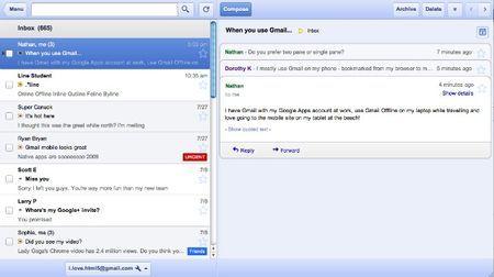 Gmail di Google è anche offline grazie ad un'app per Chrome