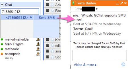 Gmail permette di inviare SMS gratis (solo USA)