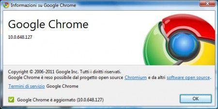 google chrome 10