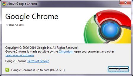 Google Chrome 10 è in arrivo