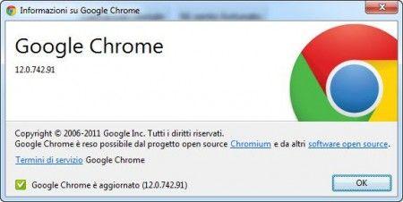 Google Chrome 12 rilasciato e pronto al download (con tante novità)