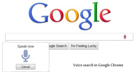 Google Chrome: arriva la ricerca vocale con Voice Search