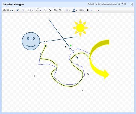 Google Documenti: disegno