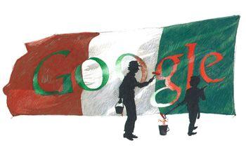 google doodle 150 anni italia