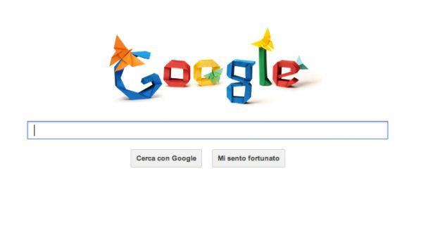 Google Doodle per Akira Yoshizawa animato dagli origami