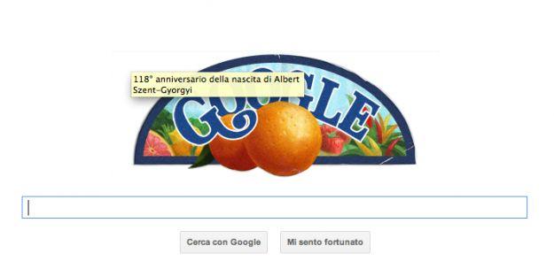 Il Google Doodle di oggi è per Albert Szent-Gyorgyi, lo scienziato della vitamina C