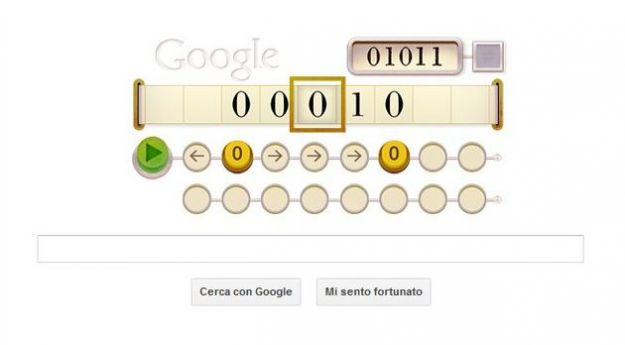Google Doodle per Alan Turing, papà dell'informatica [VIDEO]
