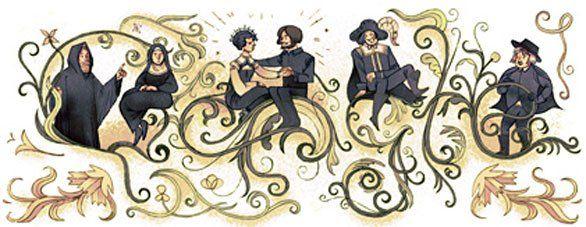 Google Doodle celebra Alessandro Manzoni per il 227° anniversario dalla nascita
