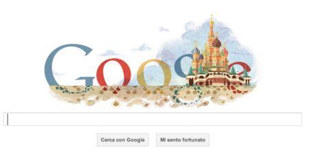 Il Google Doodle di oggi è in onore della Cattedrale di San Basilio