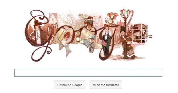 google doodle charles dickens