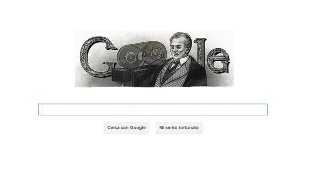 Il Google Doodle di oggi ricorda il regista Federico Fellini