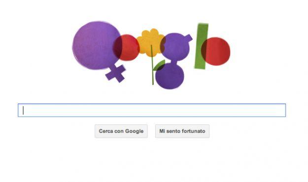 Google Doodle dedicato alla Festa della Donna [FOTO]