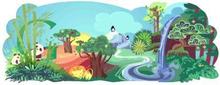 google doodle giorno della terra