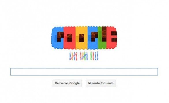 Un Google Doodle per il 14° compleanno del motore di ricerca