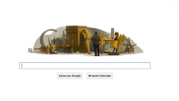 Google Doodle per Howard Carter e la tomba di Tutankhamon [VIDEO]