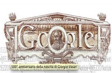 Il Google Doodle di oggi celebra il 500° anniversario della nascita di Giorgio Vasari