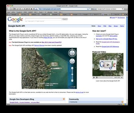 Google Earth Mac