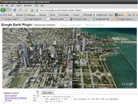Google Earth API: il plugin per il browser che vi permette di accedere a Google Earth
