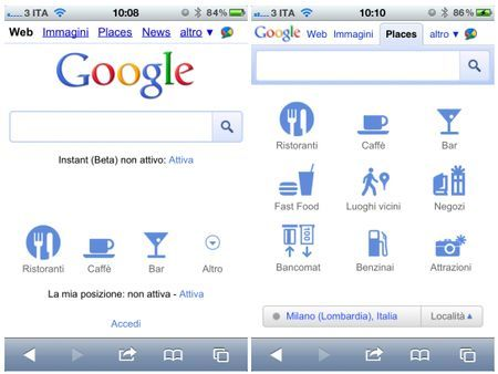 google mobile safari iphone