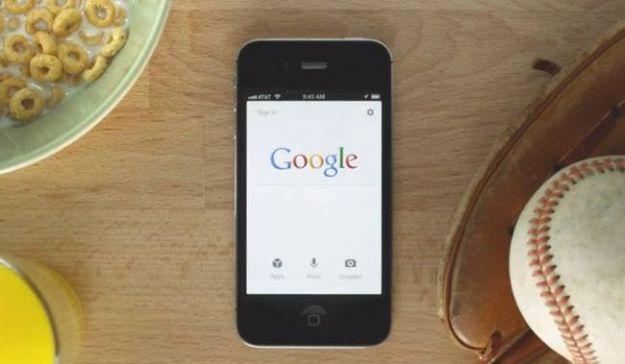 google motore di ricerca iphone