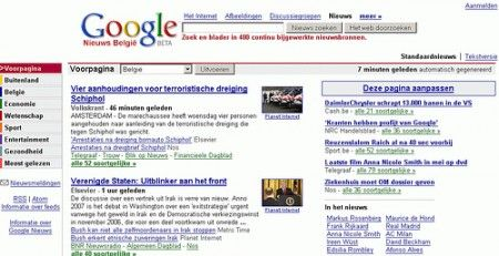 Google News condannato in Belgio