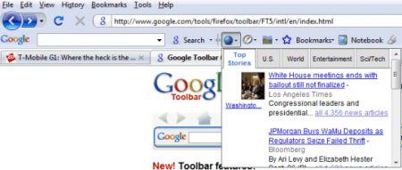 La Google Toolbar scarica Firefox ma resta disponibile fino alla versione 4 del browser