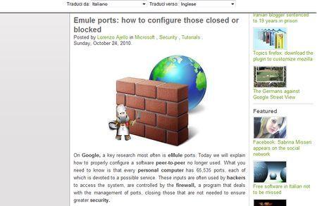 google translate traduttore gratis online pagine web